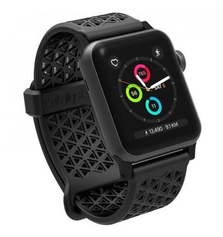 Catalyst Sport Band - Elastyczny pasek do Apple Watch 38/40/41 mm (Stealth Black)