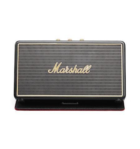 Marshall Stockwell with Cover - przenośny głośnik 27W Bluetooth Vintage z futerałem