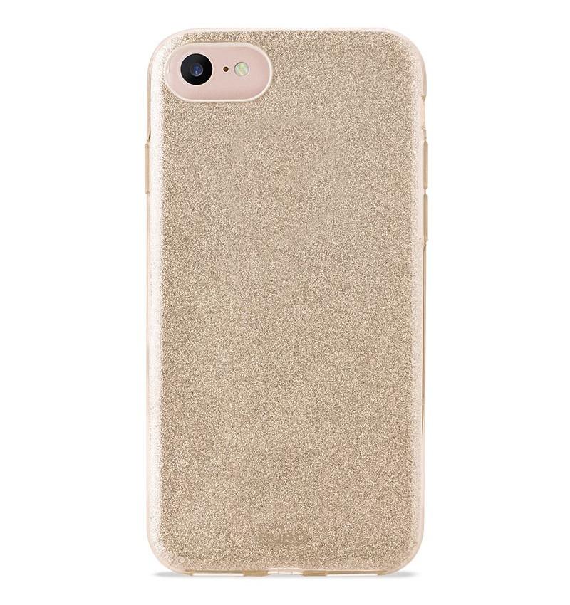 PURO Glitter Shine Cover iPhone 7