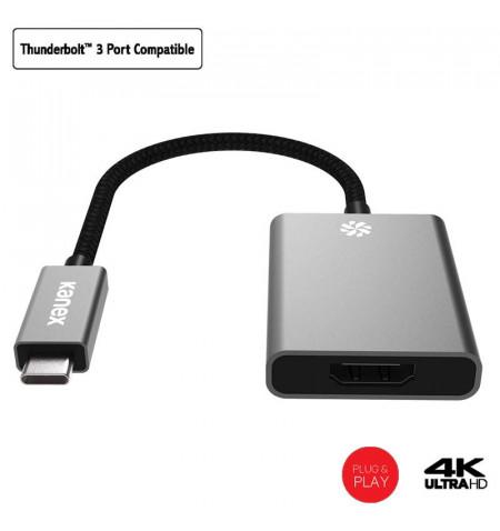 Kanex Premium USB-C to HDMI 4K Adapter - Adapter USB-C na HDMI, 4K, 60 Hz (Space Gray)