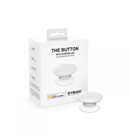 Fibaro The Button - przycisk do aktywowania 6 wybranych scen (biały)