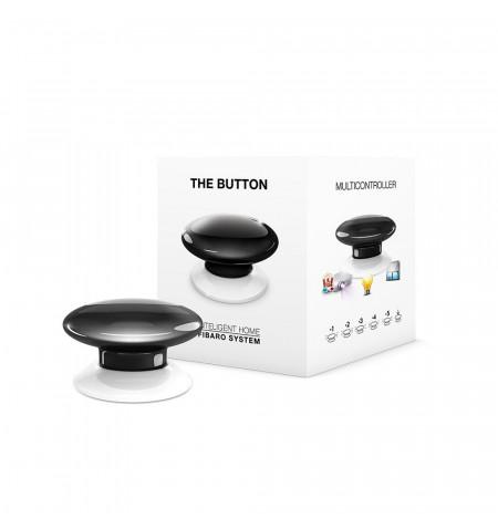 Fibaro The Button - przycisk do aktywowania 6 wybranych scen (czarny)