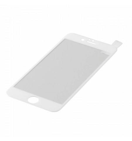 eStuff TitanShield 0,3mm Szkło hartowane na cały ekran iPhone 6S Plus/ 6 Plus (biała ramka)