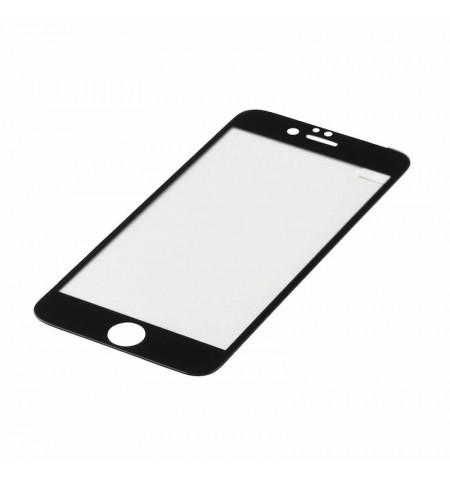 eStuff TitanShield 0,3mm Szkło hartowane na cały ekran iPhone 6S Plus/ 6 Plus (czarna ramka)