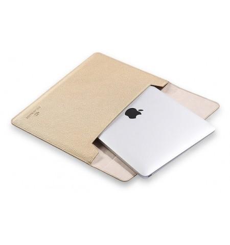 GearMax BLADE Flape Case Sleeve pokrowiec do MacBooka Pro Retina / Air 13 (złoty)