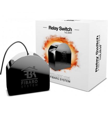 Fibaro Relay Switch 1x2,5kW - włącznik/wyłącznik do montażu w gniazdkach (jednoobwodowy)