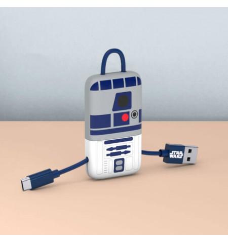 Tribe Gwiezdne Wojny kabel Lightning USB 22cm MFI (R2-D2)