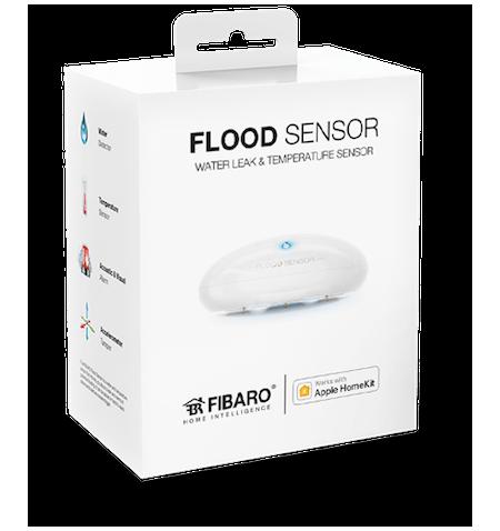 Fibaro Flood Sensor HomeKit - czujnik zalania i temperatury