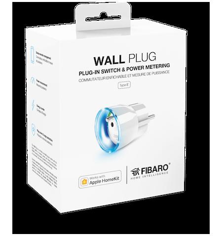 Fibaro Wall Plug HomeKit - Inteligentny włącznik urządzeń elektrycznych z funkcją pomiaru energii