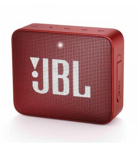 - JBL GO 2 - przenośny głośnik Bluetooth (Czerwony)