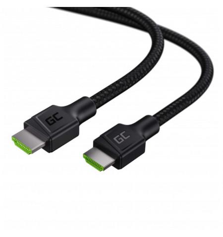 Green Cell StreamPlay - Kabel HDMI - HDMI 2.0b 1.5m z obsługą 4K 60 Hz