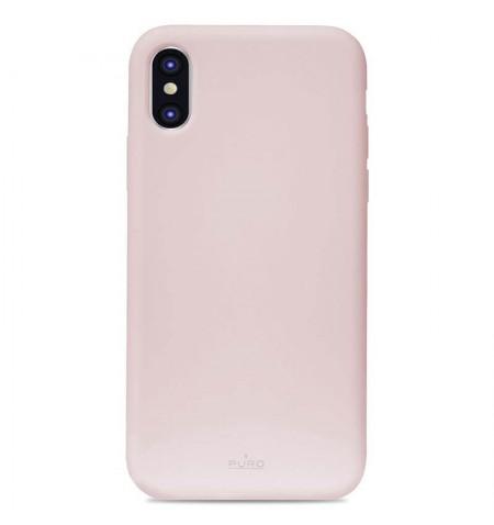 PURO ICON COVER - Etui do iPhone Xs Max (różowe)