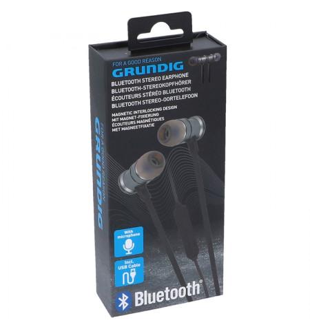 Grundig - Słuchawki douszne Bluetooth (czarny)