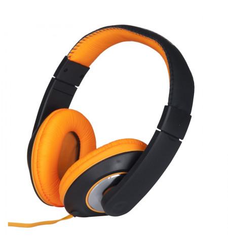 Grundig - Słuchawki nauszne (pomarańczowy)