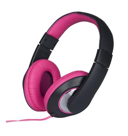 Grundig - Słuchawki nauszne (różowy)
