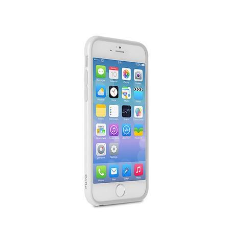 PURO Bumper Cover - Etui do iPhone 6S Plus/6 Plus z folią na ekran w zestawie (apple grey)