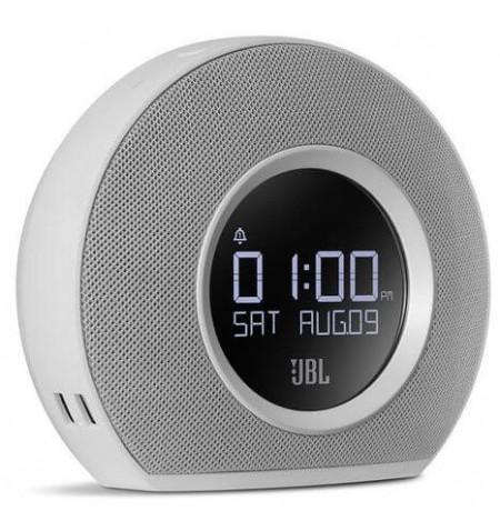JBL Horizon Radiobudzik Bluetooth z ładowarką USB i lampką (biały)