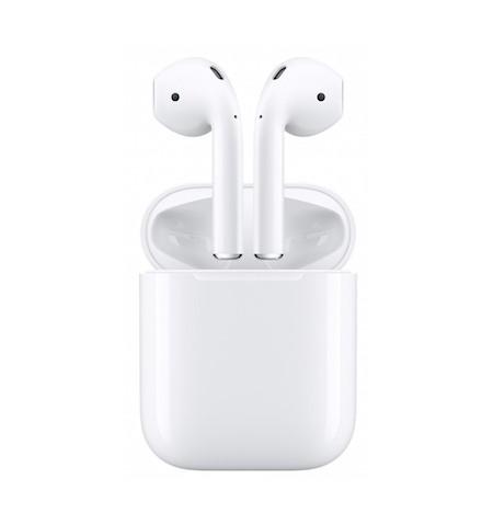 Apple AirPods (2. generacji) Bezprzewodowe słuchawki do iPhone z przewodowym etui ładującym