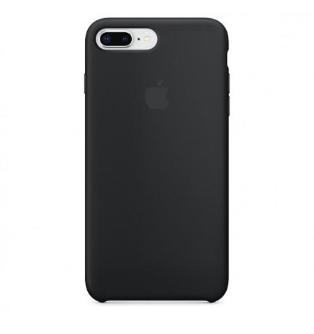 Apple Silicone Case - Silikonowe Etui do iPhone 8 Plus / 7 Plus (czarny)
